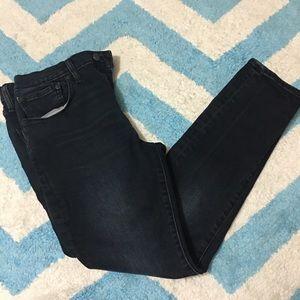 LEVI'S Men's 512 Dark Wash Skinny Jeans 31x30